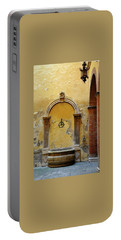 Sienna Fountain Courtyard Portable Battery Charger