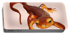 Sierra Newt - Black Text Portable Battery Charger