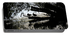 Silhouette Ducks #h9 Portable Battery Charger