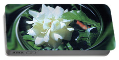 Silk Rose Portable Battery Charger