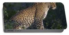 Sitting Leopard Portable Battery Charger