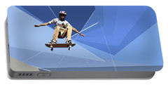 Skateboarder Portable Battery Charger
