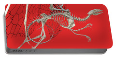 Skeleton Dragon With Red Portable Battery Charger