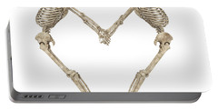 Skeleton Yoga 001 Portable Battery Charger