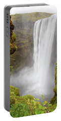 Skogafoss Iceland Portable Battery Charger