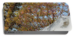 Portable Battery Charger featuring the photograph Sky Bouquet by Rosanne Licciardi