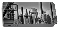 Sloss Furnaces Towers Portable Battery Charger