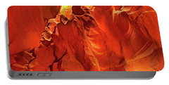 Slot Canyon Formations In Upper Antelope Canyon Arizona Portable Battery Charger