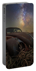 Portable Battery Charger featuring the photograph Slug Bug 'rust' by Aaron J Groen