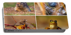 Small Animal Collage Portable Battery Charger