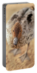 Small Duck On The Farm Portable Battery Charger