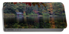 Small Pond New Hampshire Autumn Portable Battery Charger