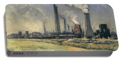 Smoke Stacks Prins Maurits Mine Portable Battery Charger