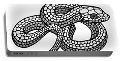 Smooth Green Snake Portable Battery Charger