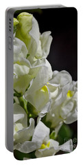 Snapdragon Flower Summer White Portable Battery Charger