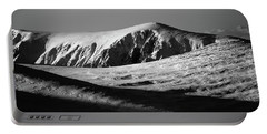 Snow On Cairngorm Portable Battery Charger