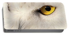 Snow Owl Eye Portable Battery Charger