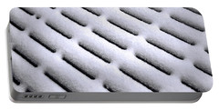 Portable Battery Charger featuring the photograph Snow Patterns by Jon Burch Photography