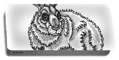 Snowshoe Hare Portable Battery Charger