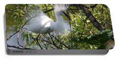Snowy Egret 4031202 Portable Battery Charger