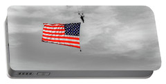 Socom Flag Jump In Selective Color Portable Battery Charger