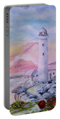 Soft Lighthouse Portable Battery Charger