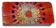 Solar Plexus Bloom Portable Battery Charger