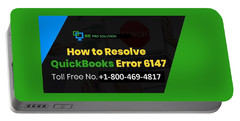 Solution Quickbooks Web Connector Error 6147,0 Portable Battery Charger
