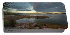 Somes Sound Sunset Portable Battery Charger