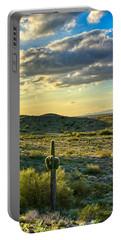 Sonoran Desert Portrait Portable Battery Charger