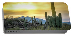 Portable Battery Charger featuring the photograph Sonoran Sunrise by Philip Rispin