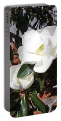 Sosouthern Magnolia Blossoms Portable Battery Charger