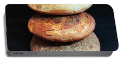 Sourdough Bread Stack 2 Portable Battery Charger