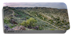 South Mountain Landscape Portable Battery Charger