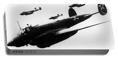 Soviet Dive-bombers Petlyakov-2 Attack Finnish Military Objective, 1939 Portable Battery Charger