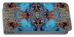 Portable Battery Charger featuring the digital art Soy Un Moresco  by A zakaria Mami
