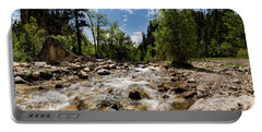 Spearfish Creek And Canyon, South Dakota Portable Battery Charger