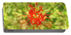 Spider Lily Pop Portable Battery Charger
