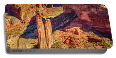 Portable Battery Charger featuring the photograph Spider Rock by Andy Crawford