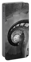 Spiral Staircase, Lakewood  Cemetary Chapel Portable Battery Charger