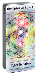 Spirit Of Love Of Peter Schalow Portable Battery Charger