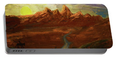 Spirit Of Wyoming Portable Battery Charger