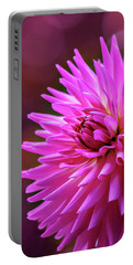 Portable Battery Charger featuring the photograph Spotlight On Dahlia by Mary Jo Allen