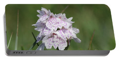 Spotted Heath Orchid Portable Battery Charger