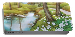 Spring At Creek Portable Battery Charger