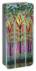 Spring Cathedral Portable Battery Charger