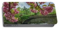 Spring Garden On The Bridge  Portable Battery Charger