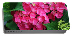 Spring Hydrangea Portable Battery Charger
