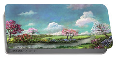 Spring In The Garden Of Eden Portable Battery Charger
