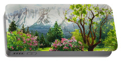 Spring In The Wallowas Portable Battery Charger